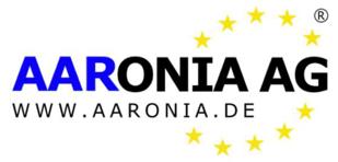 Aaronia AG logo tight