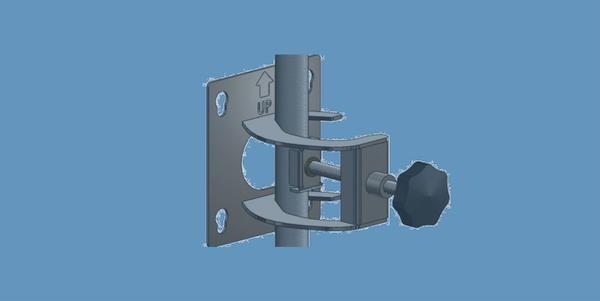 BRKT-A022 universal mast mount bracket