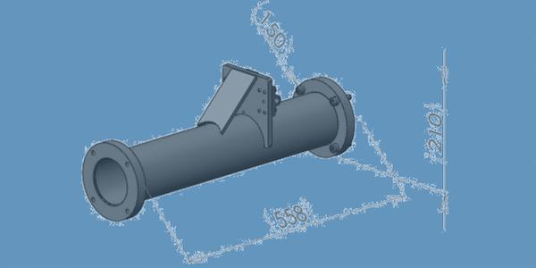 BRKT-A026 LPDA extension mast