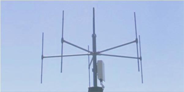 DF-A0100 VHF UHF interferometer antenna array for direction finding
