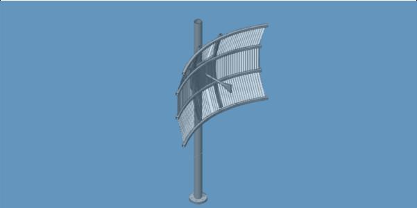 GRID-A0006 high gain dish antenna