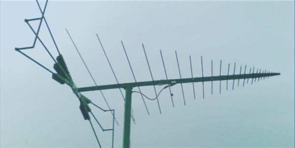 LPDA-A0036 wideband log periodic dipole array antenna