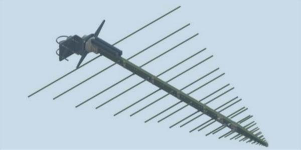LPDA-A0037 wideband V/UHF log periodic dipole array antenna