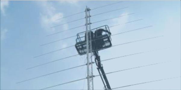 LPDA-A0048 HF high power log periodic dipole array antenna