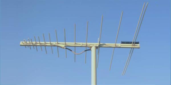 LPDA-A0054 high power V/UHF log periodic dipole array antenna