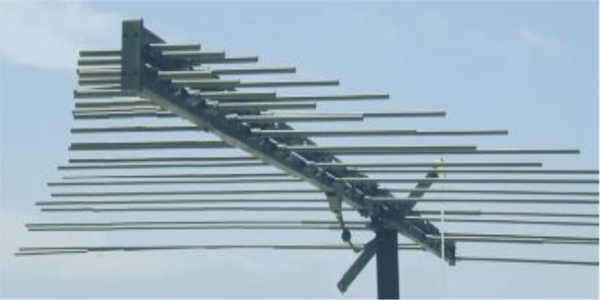 LPDA-A0060 high power VHF log periodic dipole array antenna