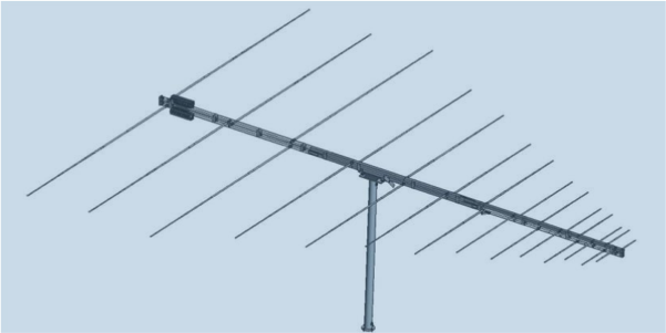 LPDA-A0066 HF monitoring log periodic dipole array antenna