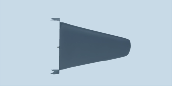 LPDA-A0078 high power UHF log periodic dipole array antenna