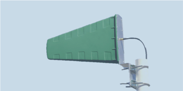 LPDA-A0081 ultra wideband log periodic dipole array antenna