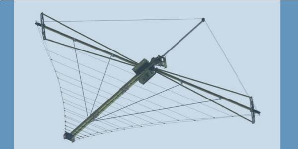 LPDA-A0100 deployableble high power wideband wire LPDA antenna