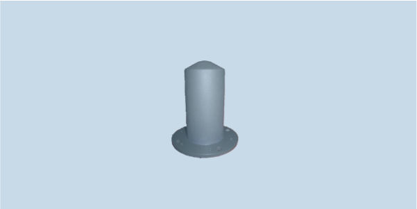 MONO-A0024 high power monopole omnidirectional antenna