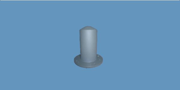 MONO-A0024 high power monopole omnidirectional antenna
