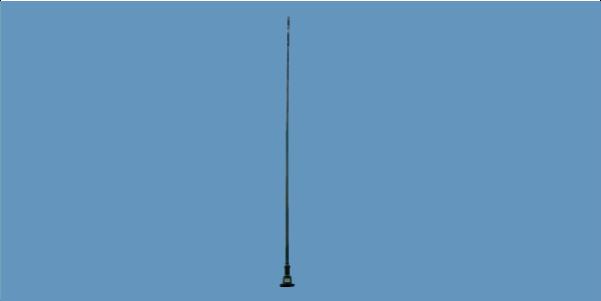 MONO-A0029 wideband active HF monopole monitoring antenna