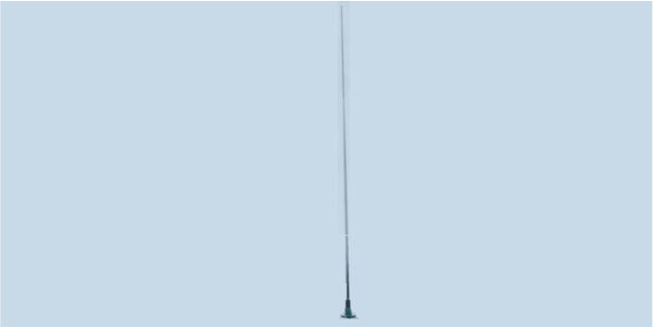 MONO-A0046 8m whip antenna for HF communications and monitoring