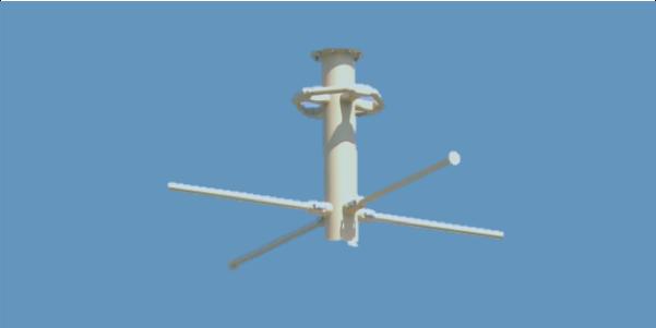 OMNI-A0099-Horizontally Polarized Omni-Directional Antenna
