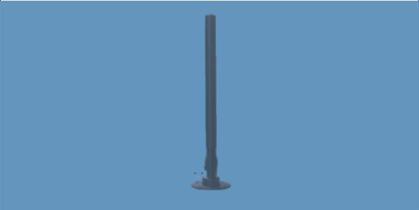 OMNI-A0130 high gain high power 2.45 GHz WLAN vehicle counter-rcied antenna