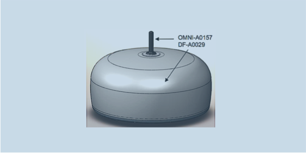 OMNI-A0157 monitoring antenna for DF-A0029