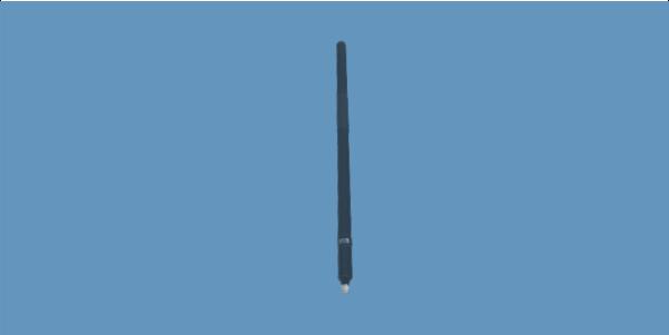 OMNI-A0180 wideband manpack omni antenna