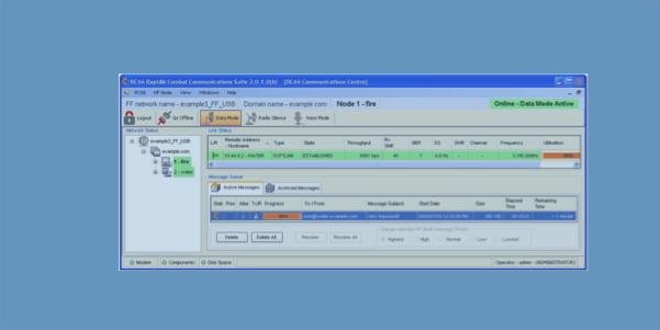 RC66 combat communications software suite