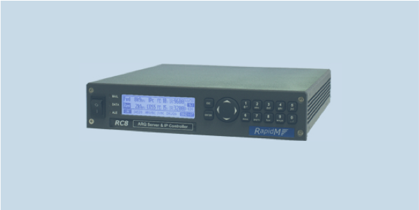 RC8 ARQ server and IP controller