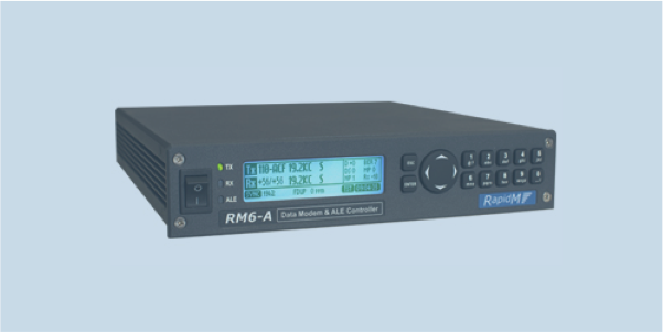 RM6-A lf hf data modem and ALE controller
