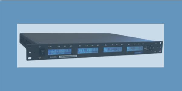 RM8X4 quad software defined modem