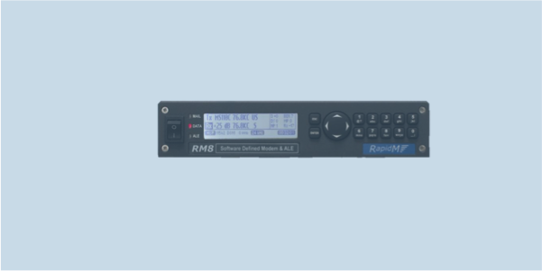 RM8 WBHF wideband HF software defined modem