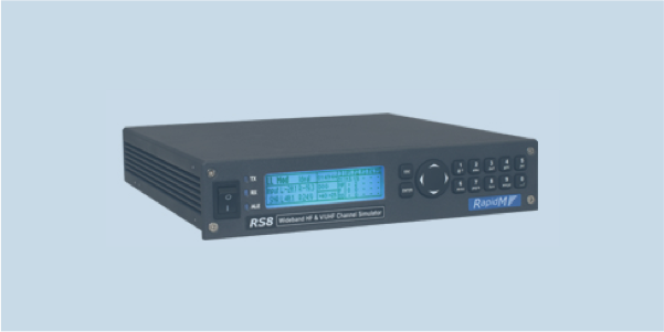 RS8 wideband HF and V/UHF channel simulator