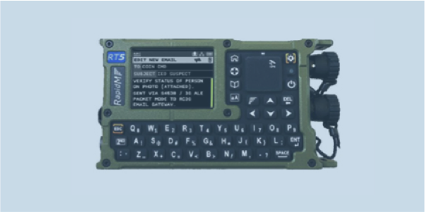 RT5 RAPTAWC Tactical Communications Terminal secure encrypted digital voice email text position tracking