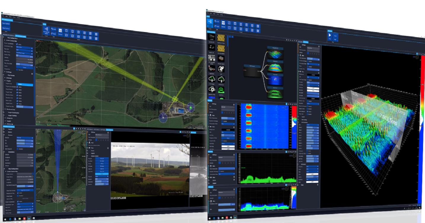 RTSA Software Screen Samples