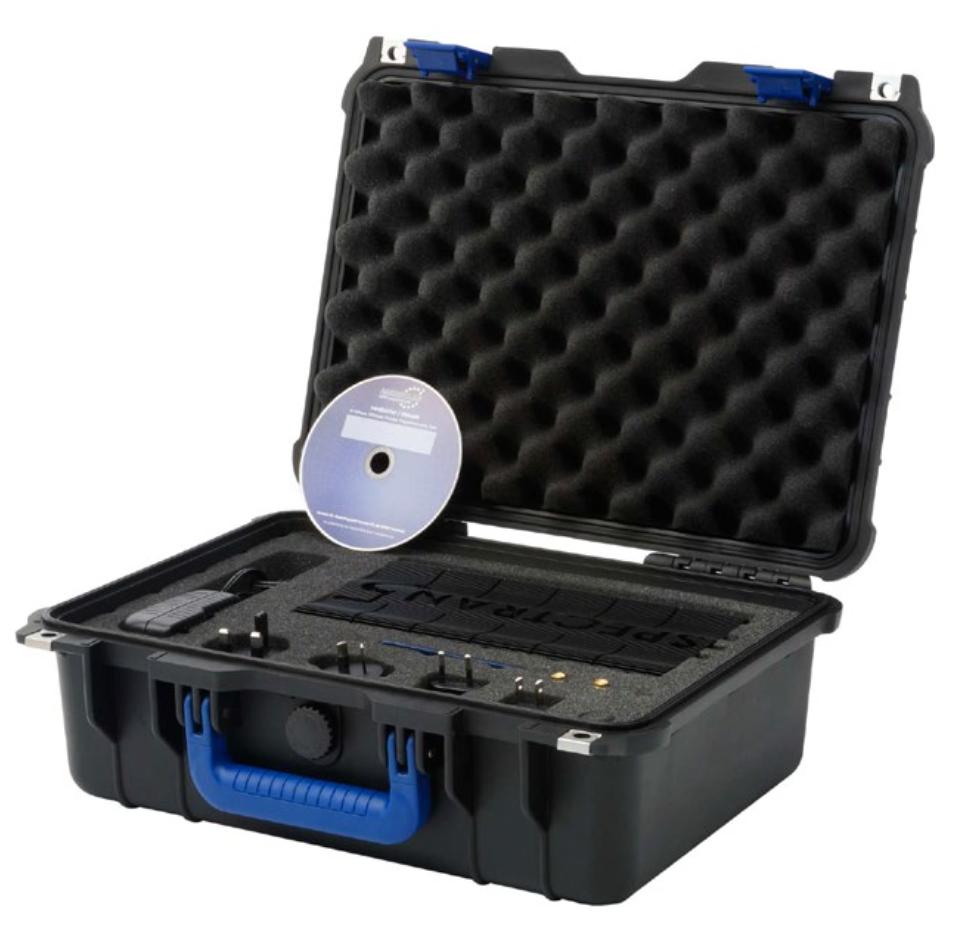 SA-K004 V5 X Spectrum Analyzer in Case with accessories