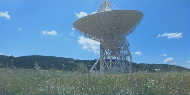 Sardinia Radio Telescope where ROACH and SKARAB serve as back-ends